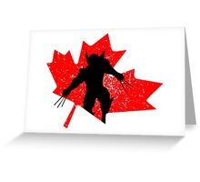 Canadian Wolverine Greeting Card
