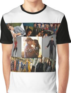 Castle Collage Graphic T-Shirt