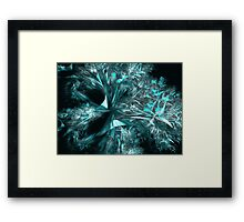 Fairyland in Winter Framed Print