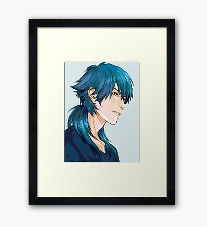 Aoba Pixel Framed Print