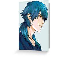 Aoba Pixel Greeting Card