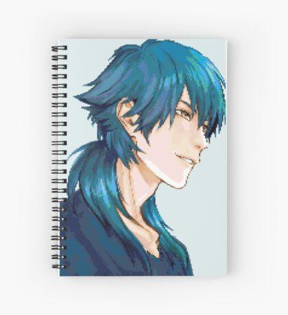 Aoba Pixel Spiral Notebook