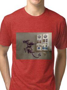 Worst bubblegum ever Tri-blend T-Shirt