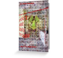 A Place Where Even Angels are Confused! Greeting Card