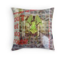 A Place Where Even Angels are Confused! Throw Pillow
