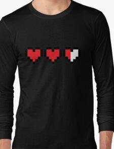 Zelda Heart Container Long Sleeve T-Shirt