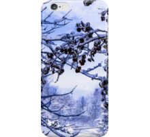 ABSTRACT LIMBS AND SNOW iPhone Case/Skin