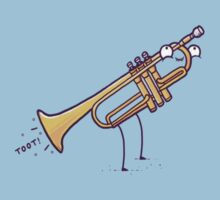 "Playing the ""trumpet"" Kids Clothes"