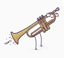 """Playing the """"trumpet"""" Kids Clothes"""