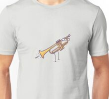 """Playing the """"trumpet"""" Unisex T-Shirt"""