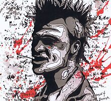 Fight Club #6 The First Rule Of Fight Club Is.... by Spencer Holdsworth Art