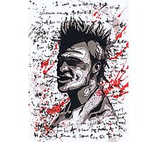 Fight Club #6 The First Rule Of Fight Club Is.... Photographic Print