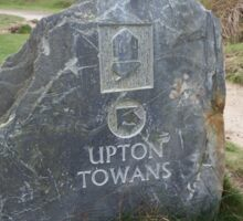 Upton Towans Landmarker Sticker