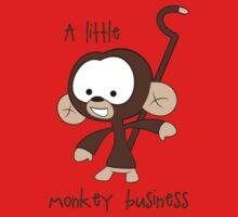 Baby Monkey One Piece - Short Sleeve