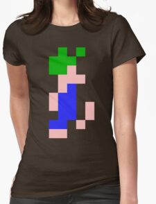 Lemmings DOS game (lemming) Womens Fitted T-Shirt