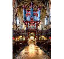 Now That's an Organ! Photographic Print