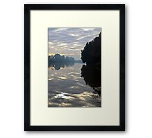 "Day 294:365  Hawkesbury River Windsor  ""SOLD ONE - YAY "" Framed Print"