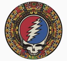 2012 Mayan Steal Your Face - Full Color Kids Tee