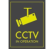 CCTV Photographic Print