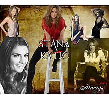 Stana Katic Photographic Print