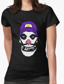 Misfit Waluigi Womens Fitted T-Shirt