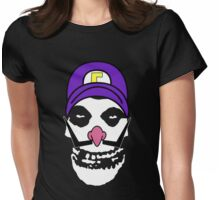 Misfit Waluigi Womens Fitted T-Shirt