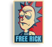 Free Rick Metal Print
