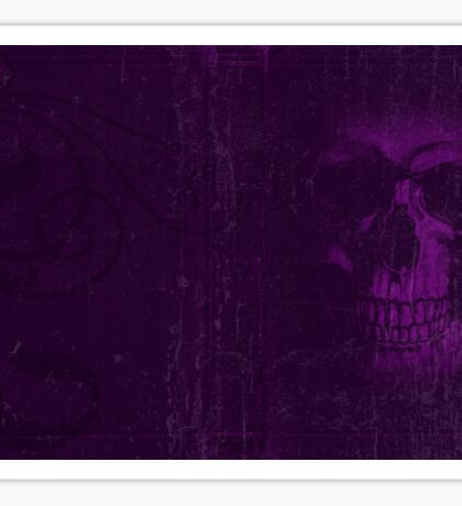 Purple Decay Sticker