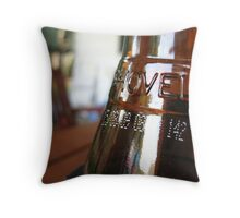 Beer Bottle Throw Pillow
