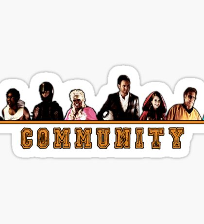 Greendale Halloween (Season 2) - Community  Sticker