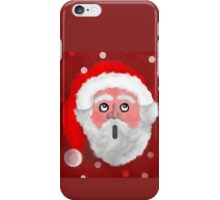 Father Christmas in awe iPhone Case/Skin