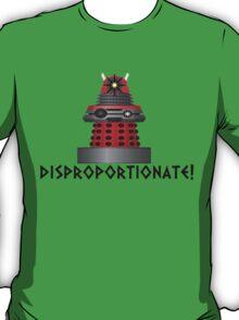 dalek -disproportionate! T-Shirt