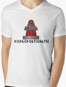 dalek -disproportionate! Mens V-Neck T-Shirt