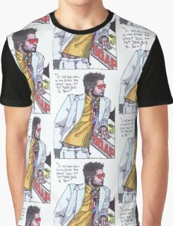 Fight Club #1 Selling Soap Graphic T-Shirt