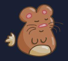 Chubby Hamster One Piece - Short Sleeve