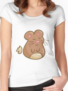 Chubby Hamster Women's Fitted Scoop T-Shirt