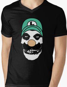 Misfit Luigi Mens V-Neck T-Shirt