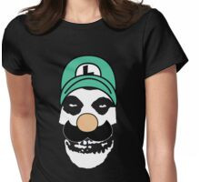 Misfit Luigi Womens Fitted T-Shirt