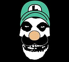 Misfit Luigi by cudatron