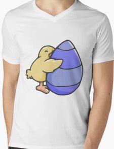 Easter Egg Hug Mens V-Neck T-Shirt