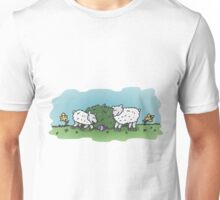 Lamb Easter Egg Hunt Unisex T-Shirt