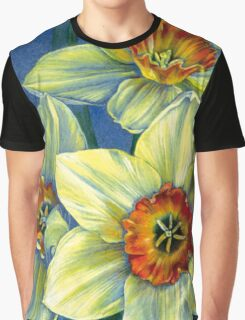 Daffodils - the joys of spring  Graphic T-Shirt