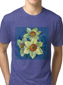 Daffodils - the joys of spring  Tri-blend T-Shirt