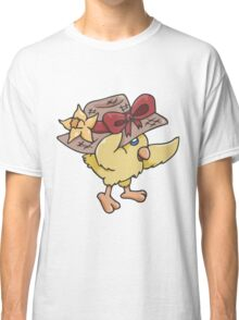 Spring Hat on Baby Chick Classic T-Shirt