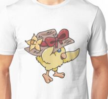 Spring Hat on Baby Chick Unisex T-Shirt