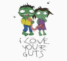 I Love Your Guts Kids Tee