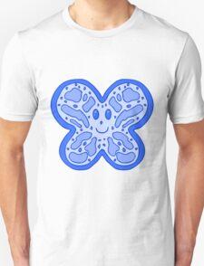 Blue Butterfly Face T-Shirt