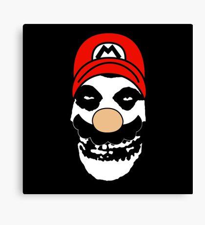Misfit Mario Canvas Print