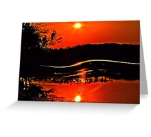 Wave Hello to the Sun Greeting Card