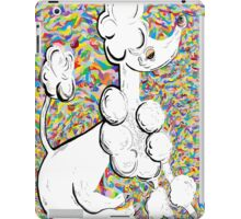 WHITE POODLE iPad Case/Skin